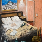 hotels, oil on canvas, 73x61cm, 2008