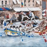 la saint louis, oil on canvas, 122x142cm, 2008