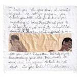 pillow talk, silk tapestry, 112x100cm