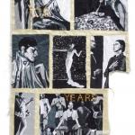 long live black venus, silk tapestry, 74x112cm