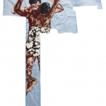 billie zangewa, disarming mars, silk tapestry, 136x123cm,  2010 72dpi.jpg