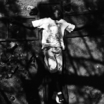mauro pinto, child Jesus-2003, hand printed fiber base silver gelatin print, edition of 10