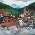 cadaques, oil on canvas, 45x61cm, 2003
