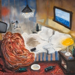 karl gietl, hotels, oil on canvas, 122x142cm, 2007