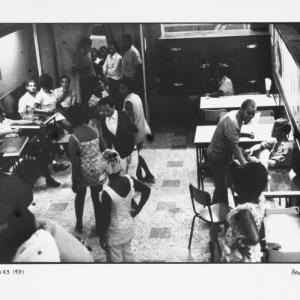 the texas bar, 1971, hand printed fiber base silver gelatin print