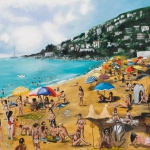 costa brava, oil on canvas, 122x142cm, 2011