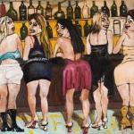 les cagoles, oil on canvas, 65x85cm, 2009