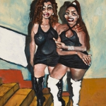 the two sisters, oil on canvas, 100x80cm, 2011.jpg