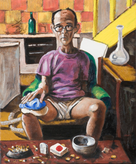 howard, oil on canvas, 46x36cm, 2009