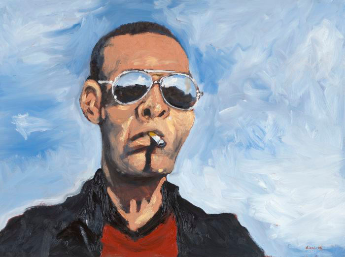 one for the road, oil on canvas, 45x61cm, 2008